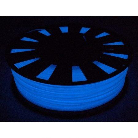PLA пластик 1,75 gReg люминофор синий 0,90 кг