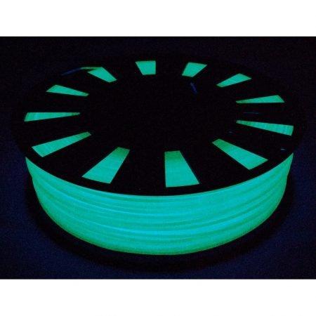 PLA пластик 1,75 gReg люминофор зеленый 0,90 кг