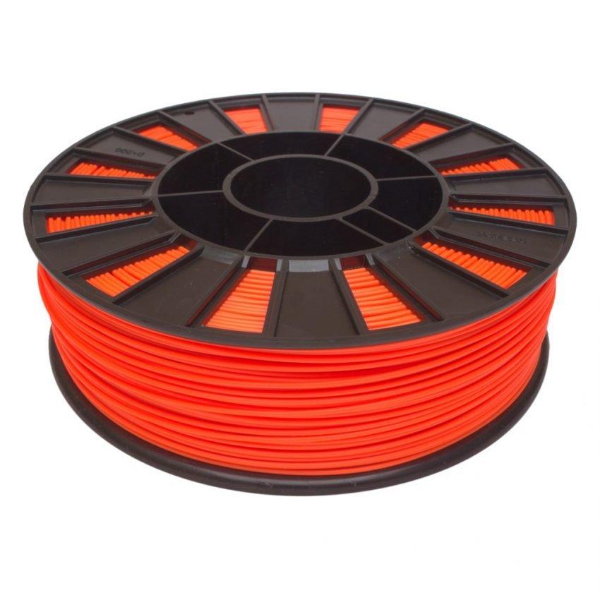 PLA пластик 1,75 gReg оранжевый 0,90 кг